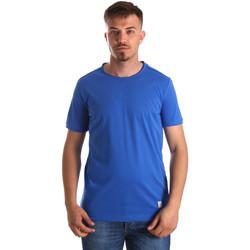 Vêtements Homme T-shirts manches courtes Gaudi 911BU64023 Bleu
