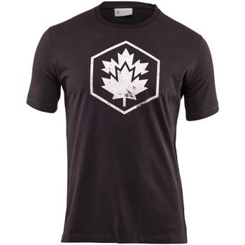 Vêtements Homme T-shirts manches courtes Lumberjack CM60343 001 509 Noir