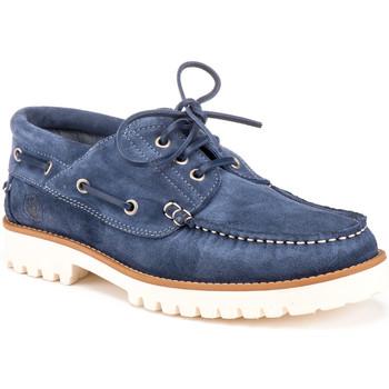 Chaussures Homme Chaussures bateau Lumberjack SM59304 001 A04 Bleu