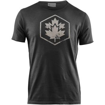 Vêtements Homme T-shirts manches courtes Lumberjack CM60343 002 509 Noir