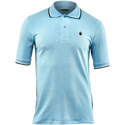 Vêtements Homme Polos manches courtes Lumberjack CM45940 004 506 Bleu