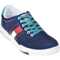 Chaussures Homme Baskets basses Tommy Hilfiger EM0EM00260 Bleu