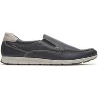 Chaussures Homme Mocassins Enval 3238000 Bleu