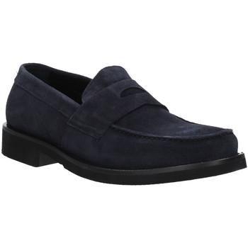 Chaussures Homme Mocassins Rogers AZ004 Bleu