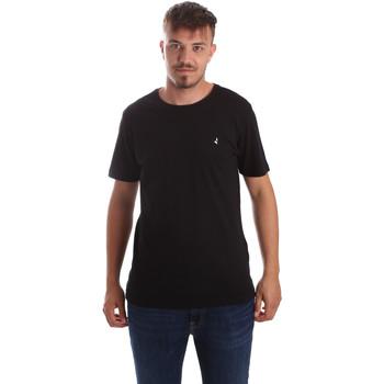 Vêtements Homme T-shirts manches courtes Navigare NV31069 Noir