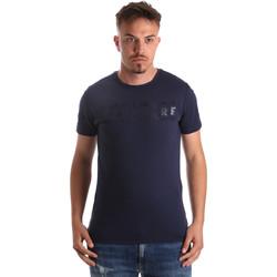 Vêtements Homme T-shirts manches courtes Navigare NV31081 Bleu