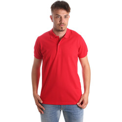 Vêtements Homme Polos manches courtes Navigare NV82001 Rouge