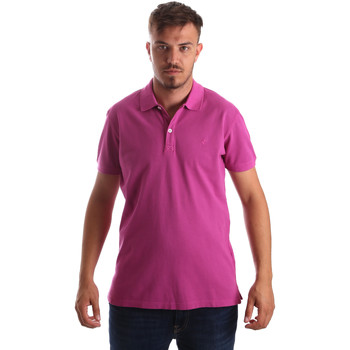 Vêtements Homme Polos manches courtes Navigare NV82086 Rose