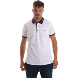 Vêtements Homme Polos manches courtes Navigare NV82097 Blanc