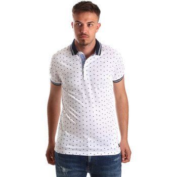 Vêtements Homme Polos manches courtes Navigare NV82099 Blanc