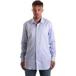 Vêtements Homme Chemises manches longues Navigare NV90005 FR Bleu