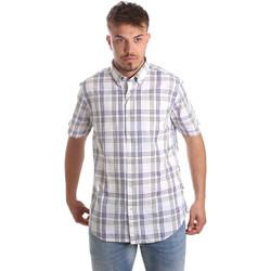 Vêtements Homme Chemises manches courtes Navigare NV91057 BD Bleu