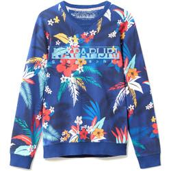 Vêtements Homme Sweats Napapijri N0YIF8 Bleu