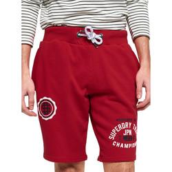 Vêtements Homme Shorts / Bermudas Superdry M71105AT Rouge
