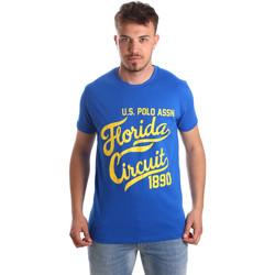 Vêtements Homme T-shirts manches courtes U.S Polo Assn. 49351 51340 Bleu