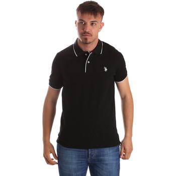 Vêtements Homme Polos manches courtes U.S Polo Assn. 50336 51263 Noir