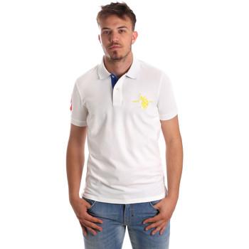 Vêtements Homme Polos manches courtes U.S Polo Assn. 50336 51267 Blanc