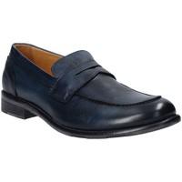 Chaussures Homme Mocassins Exton 3106 Bleu