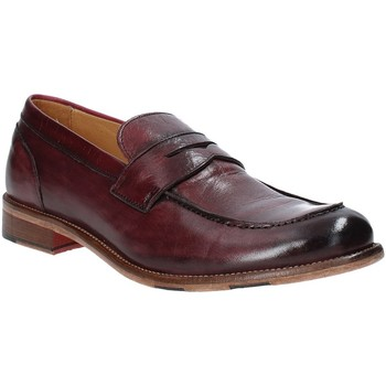 Chaussures Homme Mocassins Exton 3106 Rouge