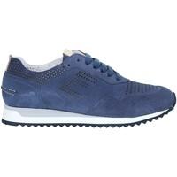 Chaussures Homme Baskets basses Exton 903 Bleu