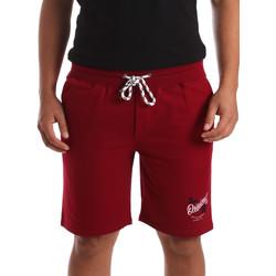 Vêtements Homme Shorts / Bermudas Key Up 2F26I 0001 Rouge