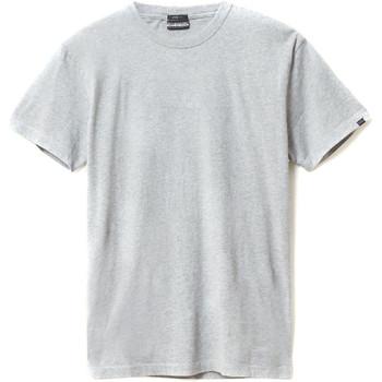 Vêtements Homme T-shirts manches courtes Napapijri N0YIEL Gris