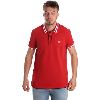 Vêtements Homme Polos manches courtes NeroGiardini P972210U Rouge