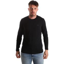 Vêtements Homme T-shirts manches longues Key Up 2E96B 0001 Noir