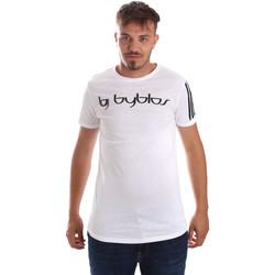 Vêtements Homme T-shirts manches courtes Byblos Blu 2MT0016 TE0046 Blanc