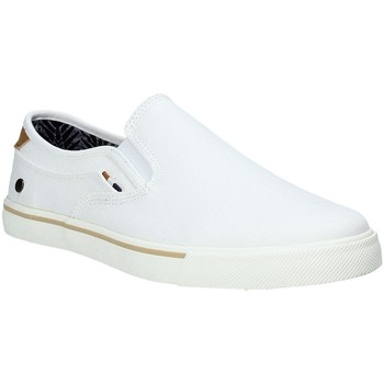 Chaussures Homme Slip ons Wrangler WM91101A Blanc