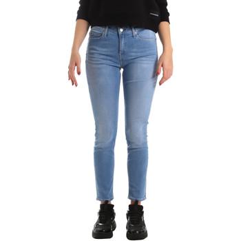 Vêtements Femme Jeans skinny Calvin Klein Jeans J20J211006 Bleu