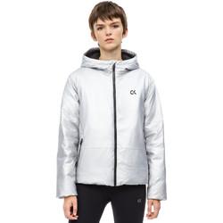 Vêtements Femme Blousons Calvin Klein Jeans 00GWH8O598 Gris