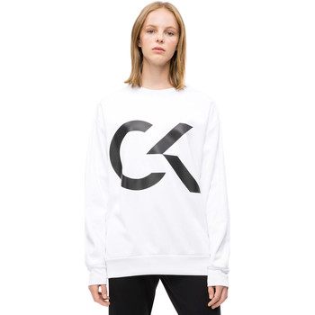 Vêtements Femme Sweats Calvin Klein Jeans 00GWH8W353 Blanc