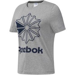 Vêtements Femme T-shirts manches courtes Reebok Sport DT7221 Gris