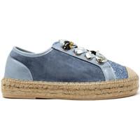 Chaussures Femme Baskets basses Gold&gold A19 GT813 Bleu