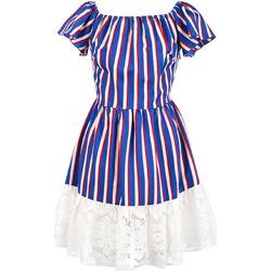 Vêtements Femme Robes courtes Liu Jo F19384T2311 Bleu