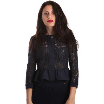 Vêtements Femme Vestes / Blazers Fracomina FR19SP680 Bleu