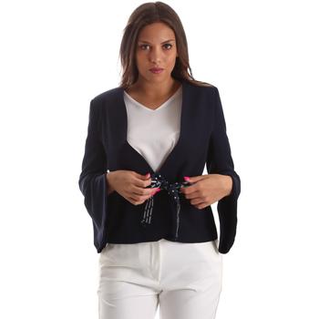 Vêtements Femme Vestes / Blazers Fracomina FR19SP668 Bleu