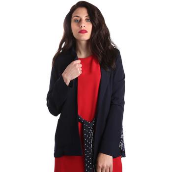 Vêtements Femme Vestes / Blazers Fracomina FR19SP006 Bleu