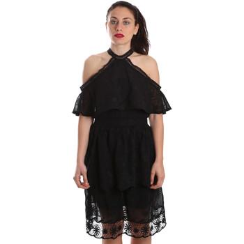 Vêtements Femme Robes courtes Fracomina FR19SP539 Noir