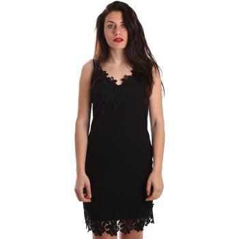 Vêtements Femme Robes courtes Fracomina FR19SP024 Noir