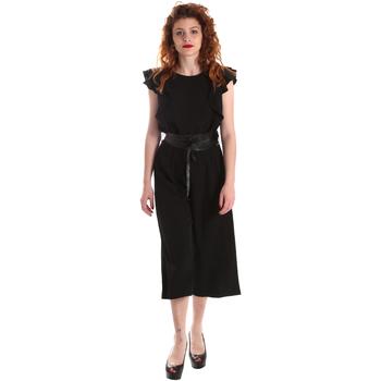 Vêtements Femme Combinaisons / Salopettes Fracomina FR19SP662 Noir