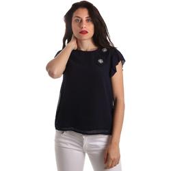 Vêtements Femme Tops / Blouses Fracomina FR19SP567 Bleu