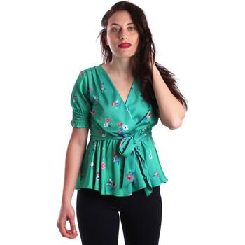 Vêtements Femme Tops / Blouses Fracomina FR19SP474 Vert