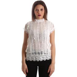 Vêtements Femme Tops / Blouses Fracomina FR19SP521 Blanc