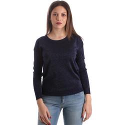 Vêtements Femme Pulls Fracomina FR19SP8009 Bleu