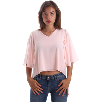 Vêtements Femme Tops / Blouses Fracomina FR19SP468 Rose