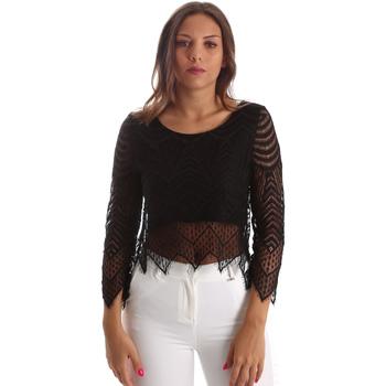 Vêtements Femme Tops / Blouses Fracomina FR19SP099 Noir