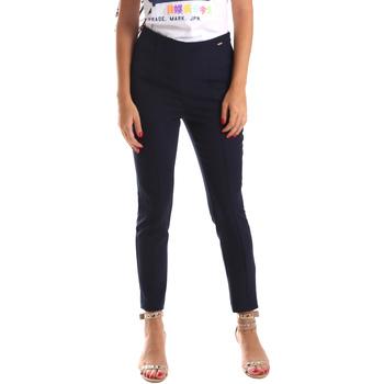 Vêtements Femme Chinos / Carrots Fracomina FR19SP133 Bleu