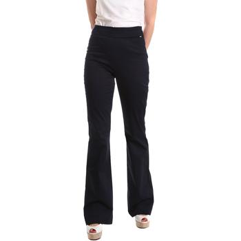 Vêtements Femme Pantalons fluides / Sarouels Fracomina FR19SM617 Bleu